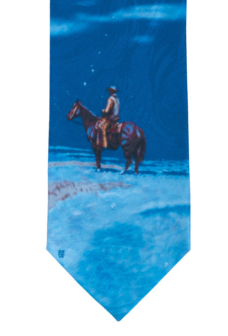"Rockmount Ltd Edition ""Snow"" Silk Tie"