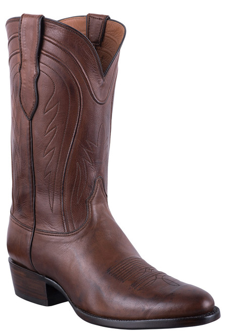 Black Jack Exclusive Burnished Brown Ranch Hand Boots