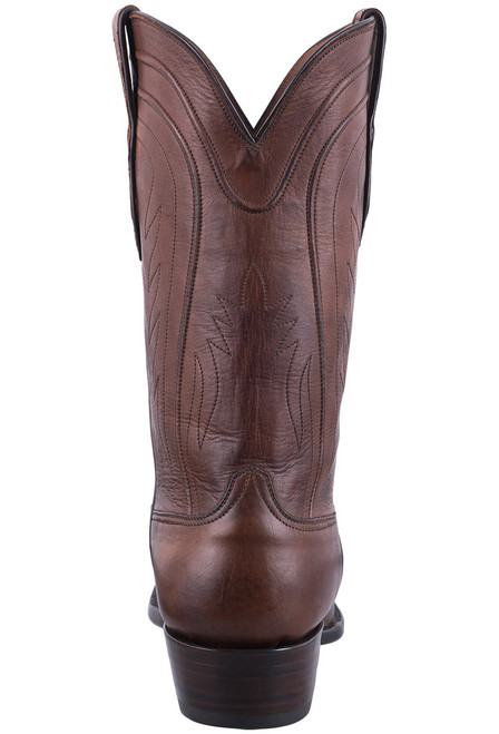 Black Jack Exclusive Burnished Brown Ranch Hand Boots - Back