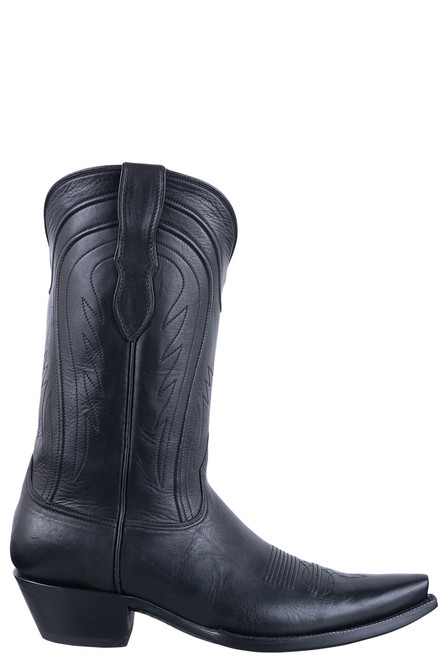 Black Jack Exclusive Black Ranch Hand Boots - Side