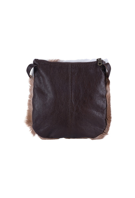 Kulu Springbok Leather Travel Pouch - Back