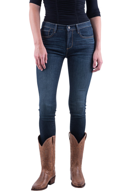 Driftwood Jackie Plain Skinny Jeans - Front