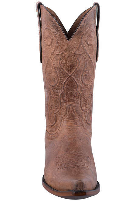 Black Jack Exclusive Tan Mad Dog Goat Boots - Front