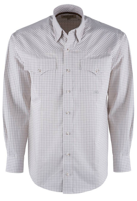 Miller Ranch Cream Check Western Shirt - Front