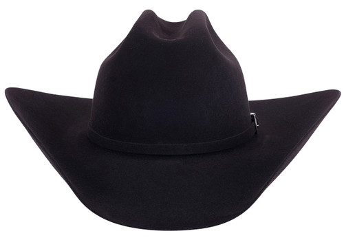 American Hat Co. 40X Felt Hat - Black Cherry - Back