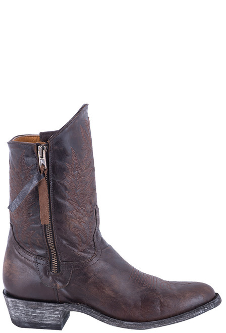 "Old Gringo Women's 8"" Vesuvio Chocolate Razz Boots - Side"