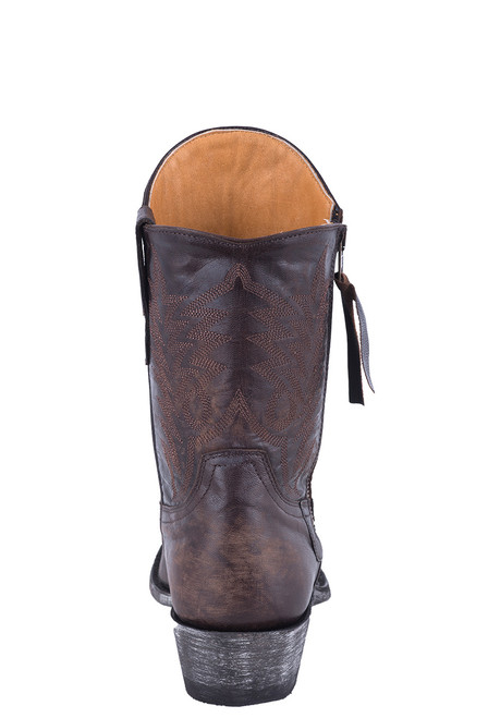 "Old Gringo Women's 8"" Vesuvio Chocolate Razz Boots - Back"
