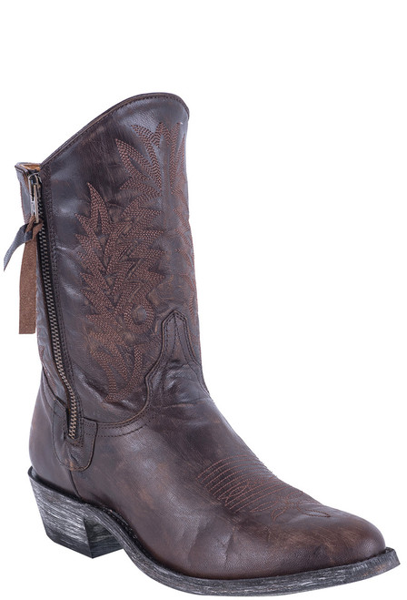 "Old Gringo Women's 8"" Vesuvio Chocolate Razz Boots"