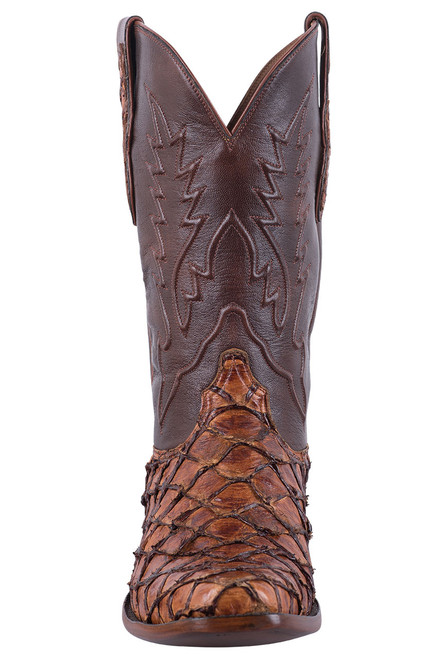 Black Jack Exclusive Ginger Chestnut Pirarucu Boots - Front
