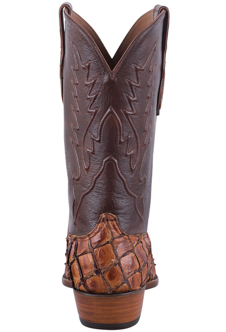 Black Jack Exclusive Ginger Chestnut Pirarucu Boots - Back