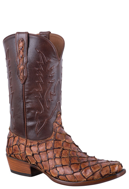 Black Jack Exclusive Ginger Chestnut Pirarucu Boots