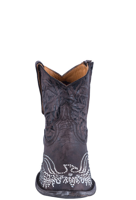 Old Gringo Women's Crystal Eagle Zipper Boots - Front