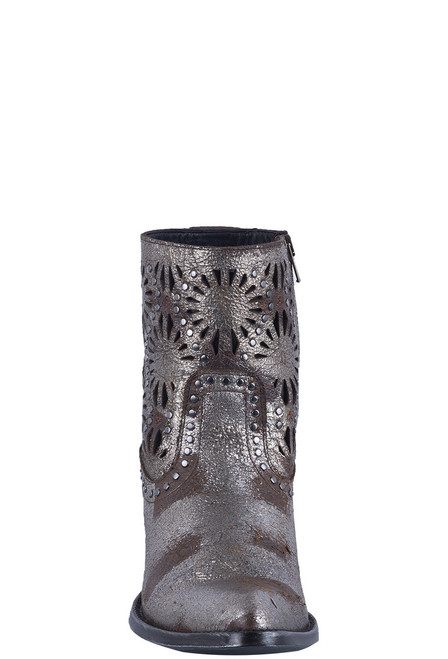 Old Gringo Women's Silver Reeve Short Boots - Front