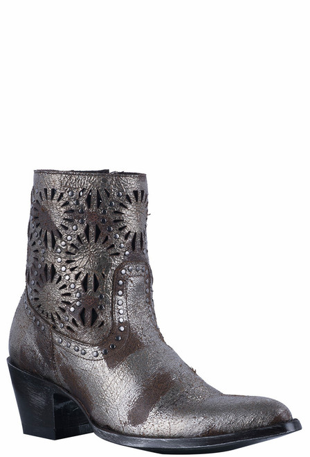 Old Gringo Women's Silver Reeve Short Boots - Hero