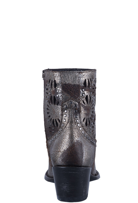 Old Gringo Women's Silver Reeve Short Boots - Back