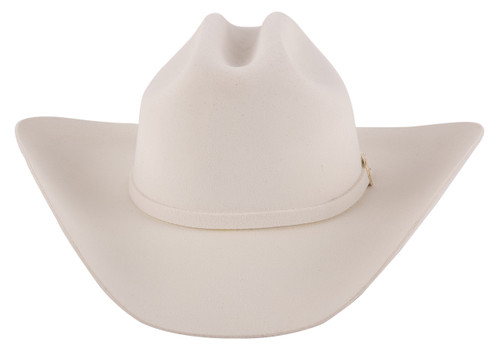 Stetson 3X Oakridge White Felt Hat