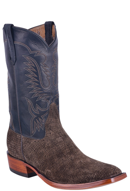 Rios of Mercedes Men's Chocolate Hippo Milan Boots - Angle
