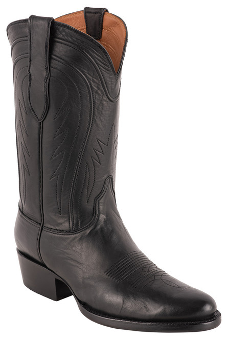 Black Jack Exclusive Ranch Hand Cowboy Boots - Angle