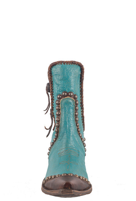 Double D Ranch by Old Gringo Turquoise Stockyards Boots - Front