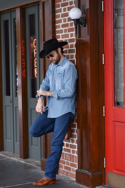 Stetson Light Blue Denim Shirt - Photoshoot 1