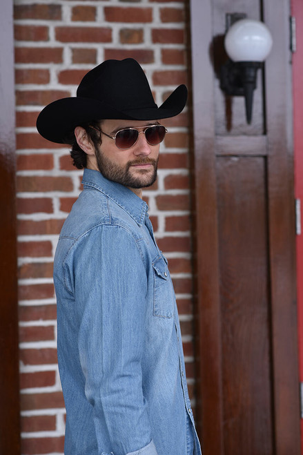 Stetson Light Blue Denim Shirt - Photoshoot 3