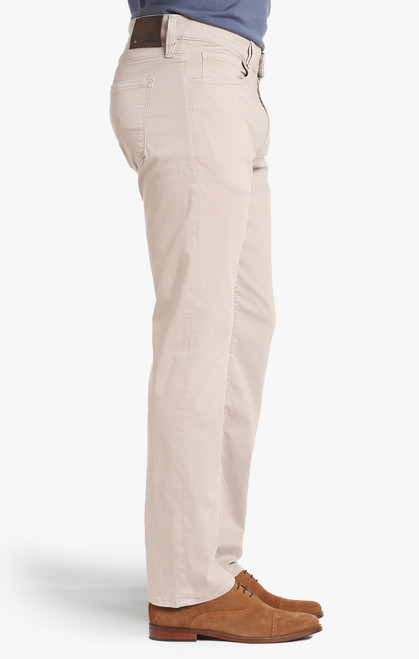 34 Heritage Men's Stone Twill Pants - Side