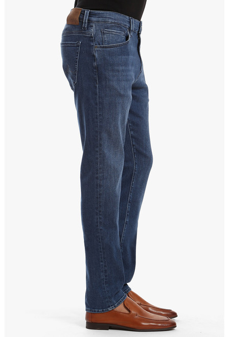 34 Heritage Men's Indigo Shaded Ultra Charisma Jeans - Side