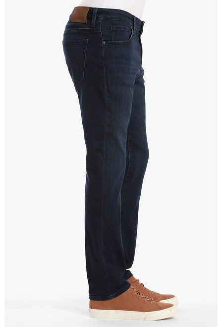 34 Heritage Men's Deep Shaded Ultra Charisma Jeans - Side