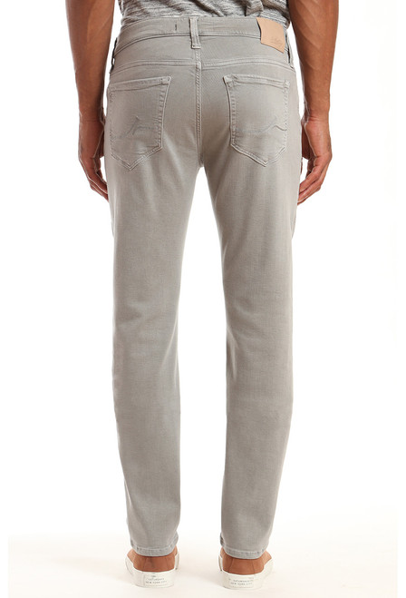 34 Heritage Men's Light Grey Comfort Charisma Pants - Back