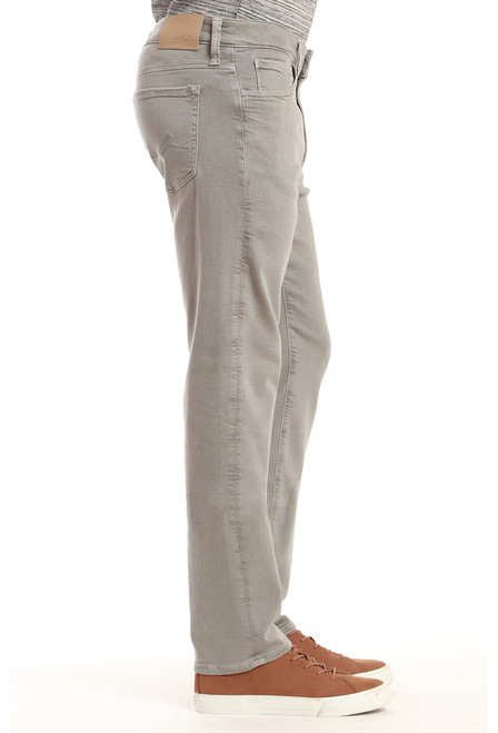 34 Heritage Men's Light Grey Comfort Charisma Pants - Side