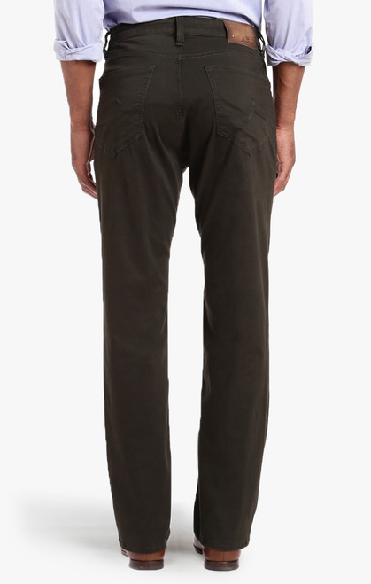 34 Heritage Men's Dark Green Twill Charisma Pants - Back