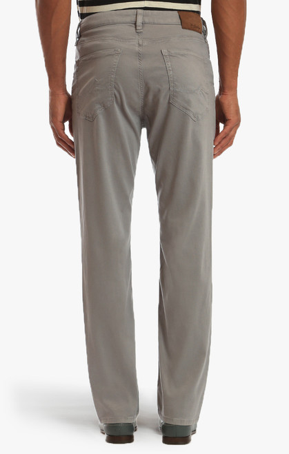 34 Heritage Men's Griffin Grey Soft Touch Charisma Pants - Back