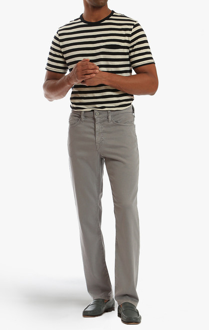 34 Heritage Men's Griffin Grey Soft Touch Charisma Pants - Full