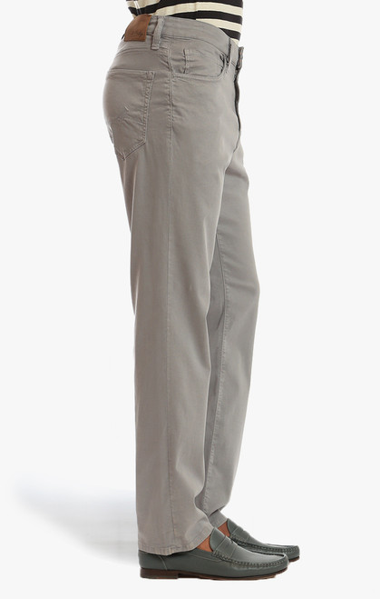 34 Heritage Men's Griffin Grey Soft Touch Charisma Pants - Side