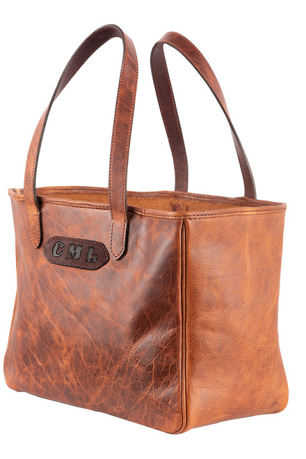 Pinto Ranch Christina Distressed Leather Tote - Angle