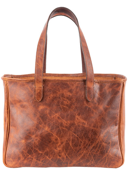 Pinto Ranch Christina Distressed Leather Tote - Back