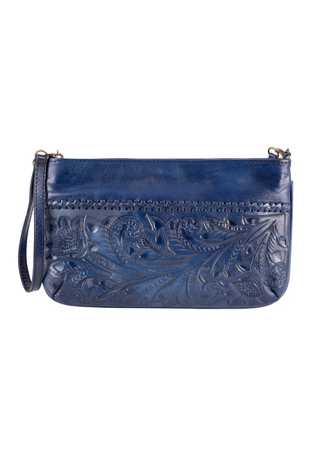 Hide and Chic Daniela Tooled Handbag