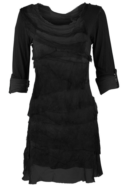 Gigi 3/4 Sleeve Ruffle Dress