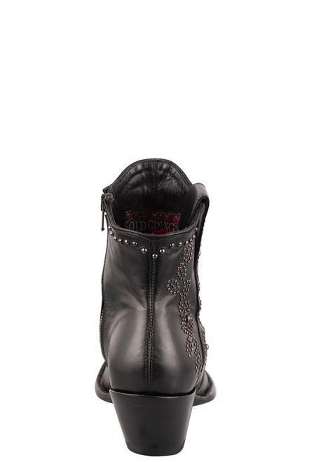 "Old Gringo Women's Samantha 7"" Studded Boots - Back"