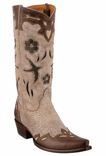 "Old Gringo Women's Golondrina 13"" Boots - Angle"