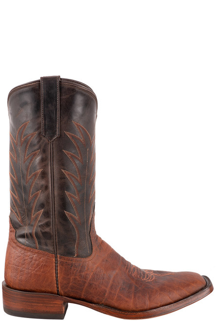 Rios of Mercedes Men's Coffee Bison Milan Boots - Side