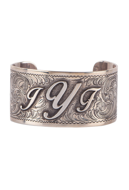 Pinto Ranch Engraved Cuff