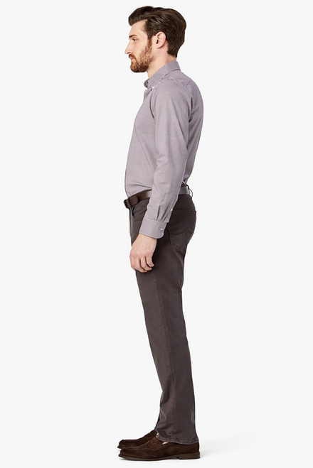 34 Heritage Charisma Anthracite Twill Pants - Side