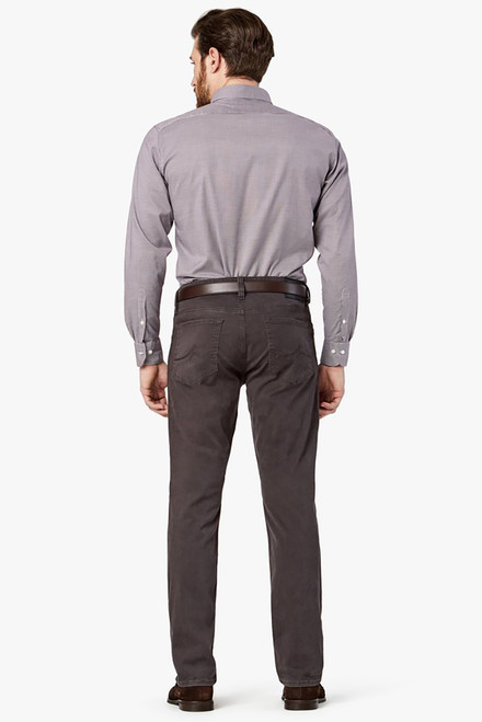 34 Heritage Charisma Anthracite Twill Pants - Back