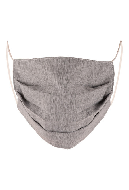 Queen Bee Solid Grey Mask