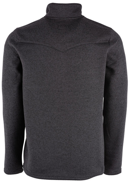 Stetson Grey Bonded Knit Pullover
