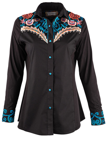 Vintage Collection Leeann Western Shirt - Front