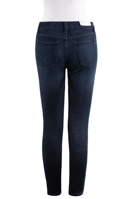 Joe's Jeans Charlie High-Rise Skinny Ankle Jeans - Back