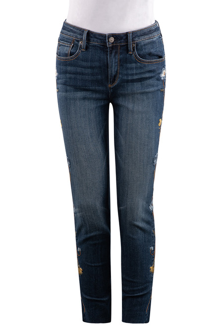 Driftwood Jackie High-Rise Skinny Jeans - Front