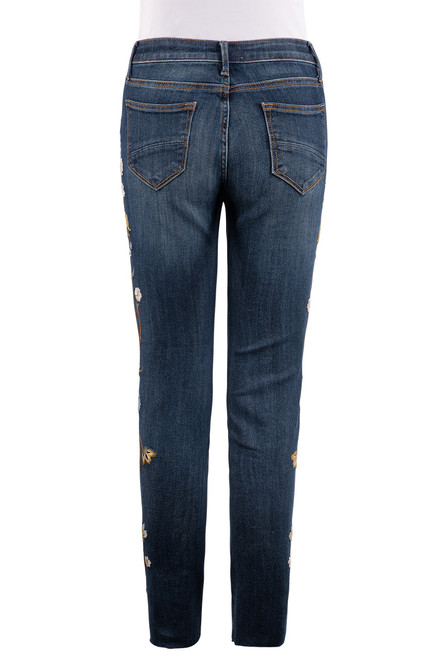 Driftwood Jackie High-Rise Skinny Jeans - Close